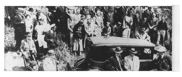 Al Capone (1899-1947) Yoga Mat