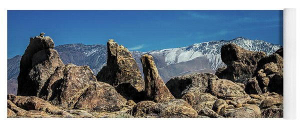 Alabama Hills Yoga Mat