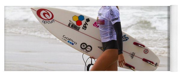 Alana Blanchard Surfer Girl Yoga Mat