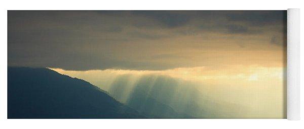 Alaska Inside Passage Under The Clouds Yoga Mat