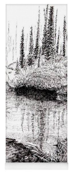 Alaska Pond Yoga Mat