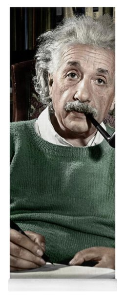 Albert Einstein Yoga Mat
