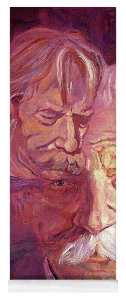 Albert Schweitzer Portrait Yoga Mat