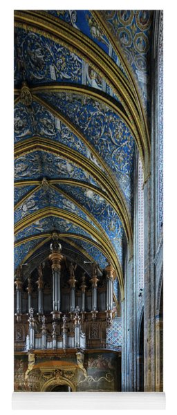 Albi Cathedral Nave Yoga Mat