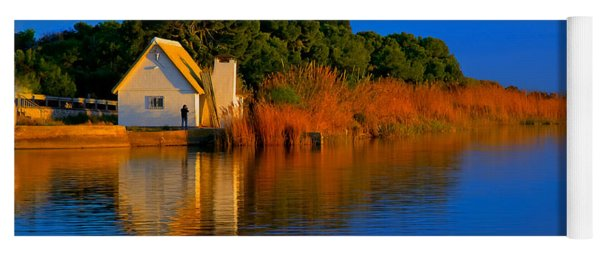 Albufera Blue. Valencia. Spain Yoga Mat