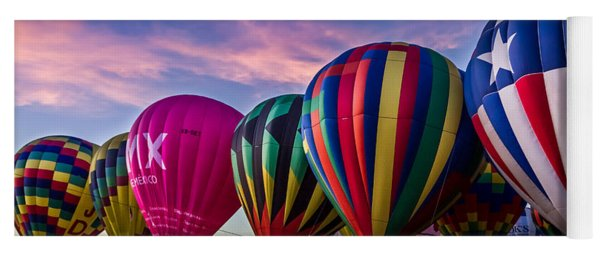 Albuquerque Hot Air Balloon Fiesta Yoga Mat