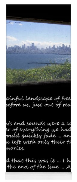 Alcatraz Reality - The Painful Landscape Of Freedom Yoga Mat