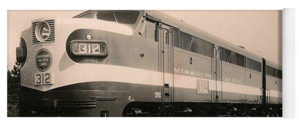 Alcoa Ge Freight Locomotive Yoga Mat
