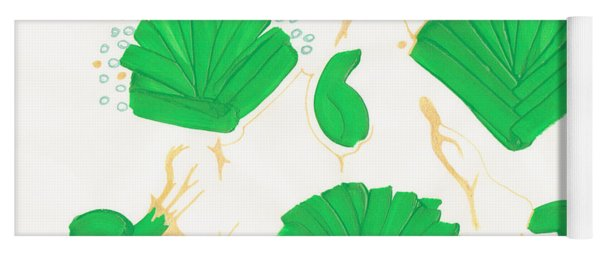 Algae Blooms Yoga Mat