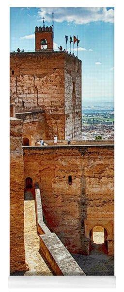 Alhambra Tower Yoga Mat