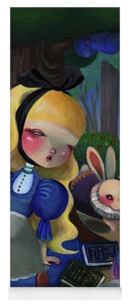 Alice In Wonderland Yoga Mat