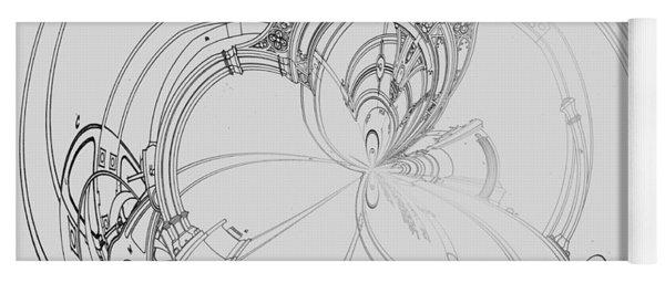 Alien Flywheel Yoga Mat