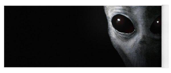 Alien Grey - Believe Yoga Mat