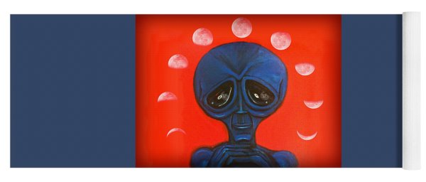 Alien Moonchild Yoga Mat