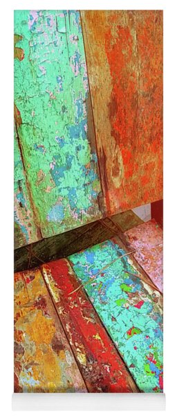 Yoga Mat featuring the photograph All Colorful by Jamart Photography