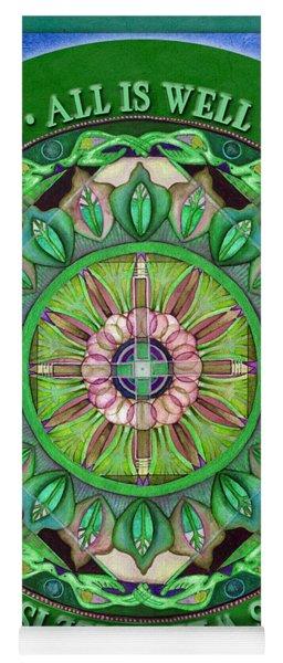 All Is Well Mandala Prayer Yoga Mat