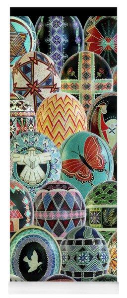 All Ostrich Eggs Collage Yoga Mat