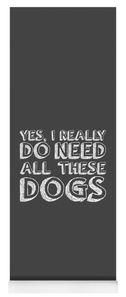 All These Dogs Yoga Mat