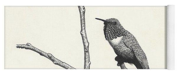Allen's Hummingbird Yoga Mat