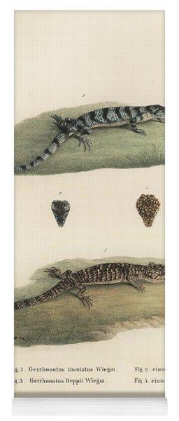Alligator Lizards Yoga Mat