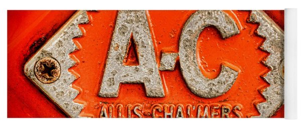 Allis Chalmers Badge Yoga Mat
