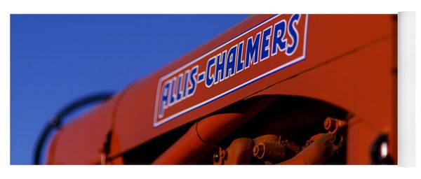 Allis-chalmers Vintage Tractor Yoga Mat