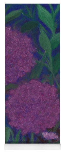 Allium And Geranium Yoga Mat