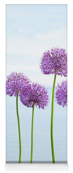 Alliums 2 Yoga Mat