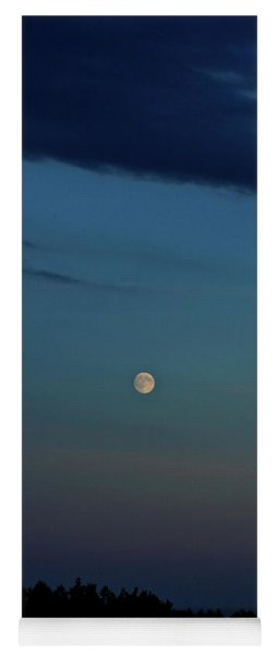 Almost Full Moon Yoga Mat
