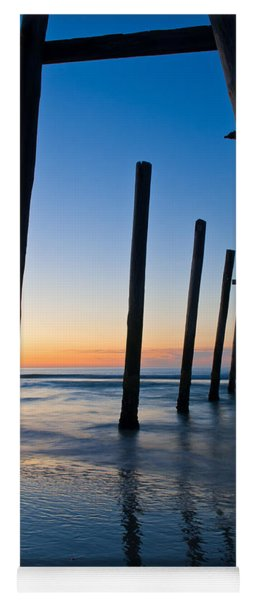 Almost Sunrise At The Pier Yoga Mat