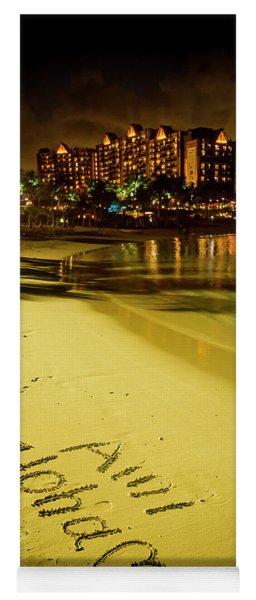 Ami Aloha Aulani Disney Resort And Spa Hawaii Collection Art Yoga Mat