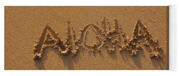 Aloha In The Sand Yoga Mat
