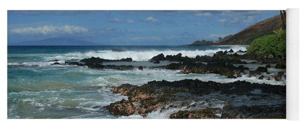 Aloha Island Dreams Paako Beach Makena Secret Cove Hawaii Yoga Mat