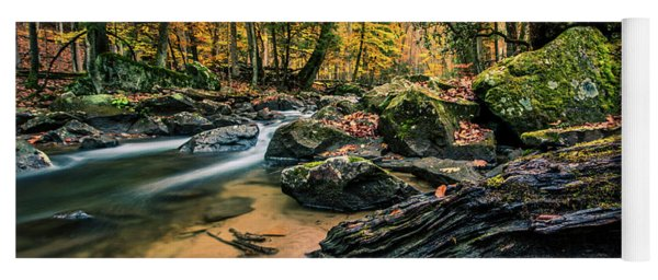 Along The Laurel Fork Yoga Mat