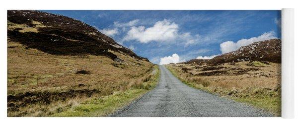 Along The Mountain Road Yoga Mat