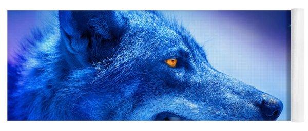 Alpha Wolf Yoga Mat