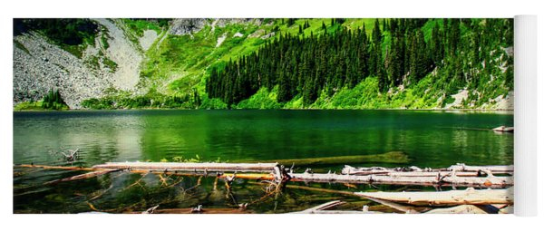Alpine Lake In The North Cascades Yoga Mat