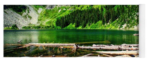 Alpine Lake In The North Cascades Yoga Mat