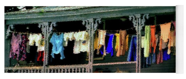 Alton Porch Wash Line No 1 Yoga Mat