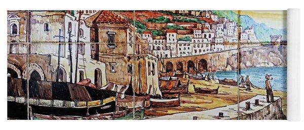 Amalfi Street Art Yoga Mat