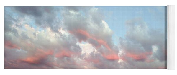 Amazing Clouds At Dusk Yoga Mat