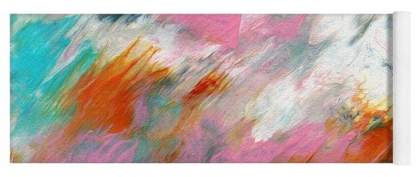 Ambrosia 2- Abstract Art By Linda Woods Yoga Mat