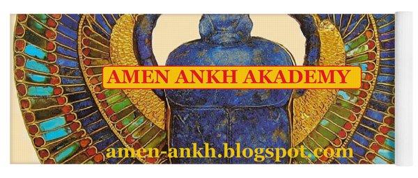Amen Ankh Akademy Yoga Mat
