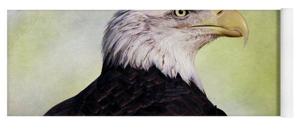 American Bald Eagle Yoga Mat