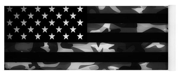 American Camouflage Yoga Mat