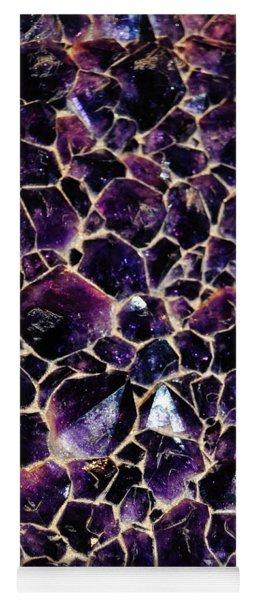 Amethyst Quartz Crystal Smithsonian Yoga Mat