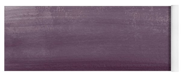 Amethyst Shoreline- Abstract Art By Linda Woods Yoga Mat