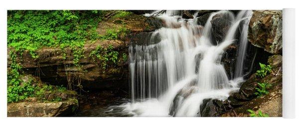 Amicalola Waterfalls 1 Dawsonville Georgia Yoga Mat