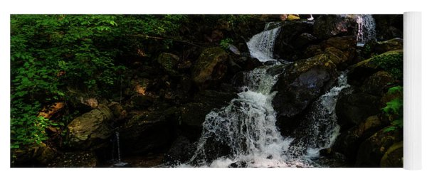 Amicalola Waterfalls 3 Dawsonville Georgia Yoga Mat