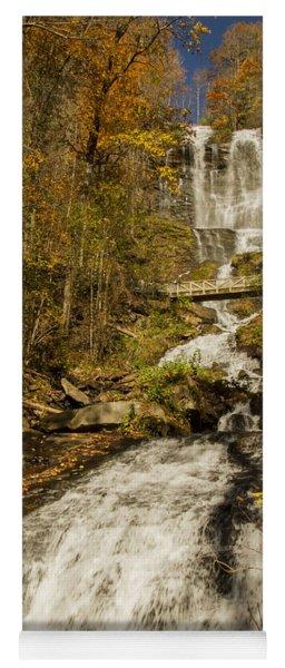 Amicola Falls Gushing Yoga Mat